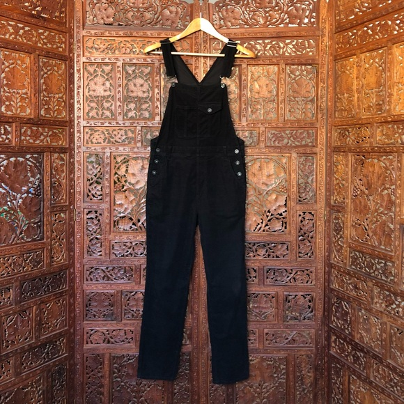 find workmanship on sale popular design Overalls - Leah Velvet Corduroy Overalls
